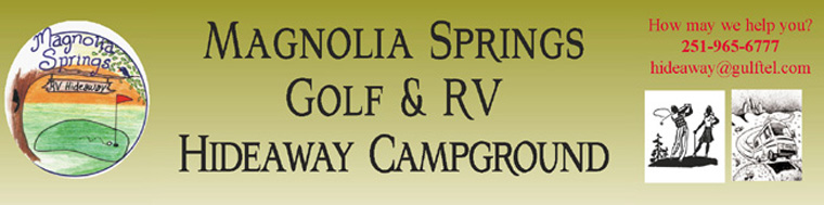 Magnolia Springs Golf & Hideaway Campgrond